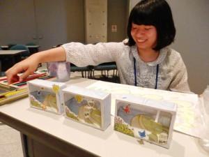 昆虫館スタッフが、狭山池博物館のために面白いペーパークラフトを作ってくれました!