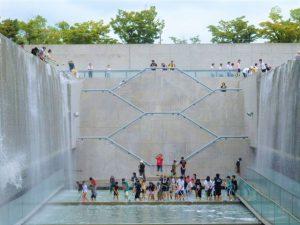 平成27年度水庭クリーンアクションの様子