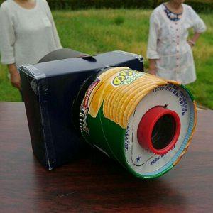 試作のカメラです。○ップスターのりしお一号